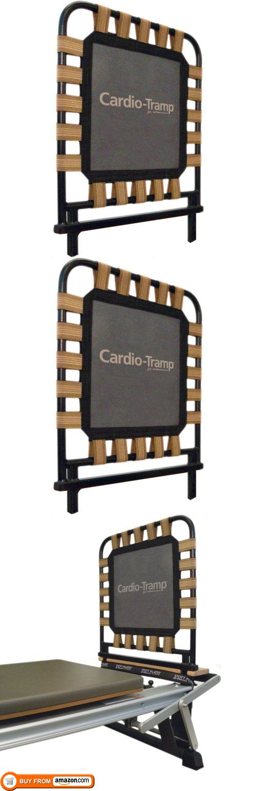 Stott Pilates Cardio Tramp, 24-Inch, The Cardio-Tramp Rebounder easily transforms any STOTT PILATES Reformer into a unique Pilates cardiovascular machine. This versatile tool provides a soft landing surface and allows for plyometric acti..., #Sporting Goods, #Pilates, $349.99