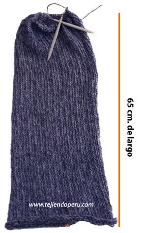 bufanda magica tubular (magic scarf)