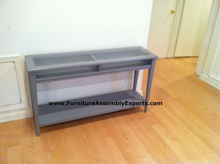 Ikea Liatorp Sofa Table Assembled In Waldorf MD By Furniture Assembly  Experts LLC