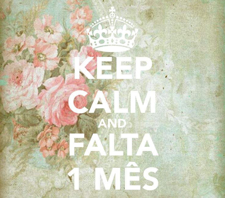 Keep calm, falta 1 mês. Falta pouco. Pé no altar. #Sernoivaé #casamento #convites #papeldearroz #convitedecasamento
