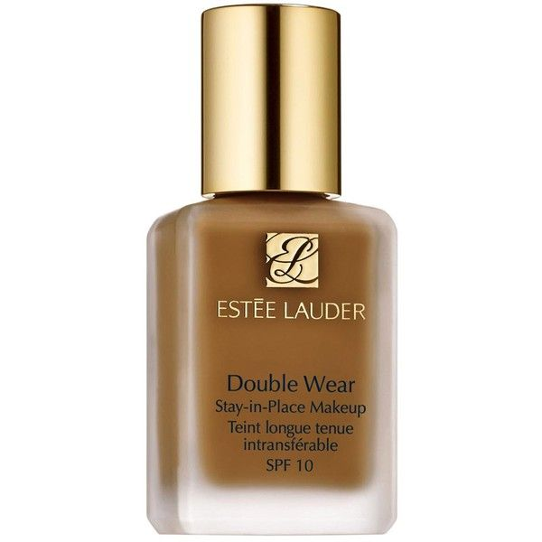 Estée Lauder Double Wear Stay-in-Place Makeup SPF10 (£30) ❤ liked on Polyvore featuring beauty products, makeup, face makeup, estee lauder cosmetics, estée lauder and estee lauder makeup