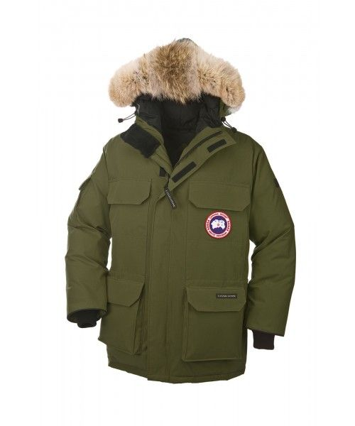 CANADA GOOSE EXPEDITION PARKA MEN Military Green 4565M Warm, durable and  iconic. Originally designed