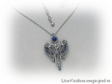 Ангел - украшения из металла, авторские кулоны, подвески. МегаГрад - город мастеров и художников