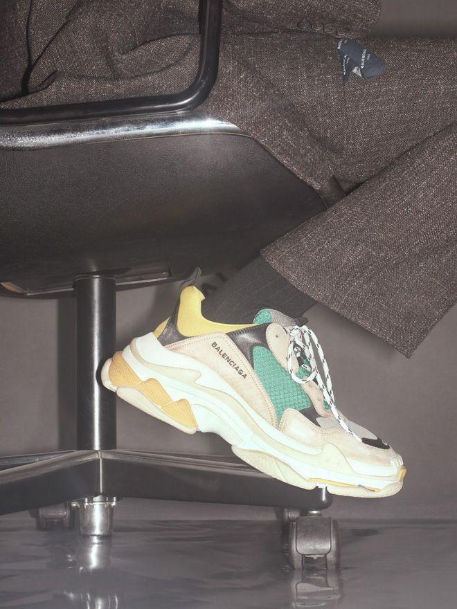 画像: 1/5【バレンシアガ、3種のスポーツシューズを重ね合わせた「トリプル S」のメンズラインを発売】
