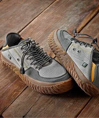 Effortlessly Cool Men's Footwear - Bungee Trail Shoe - Carbon2Cobalt