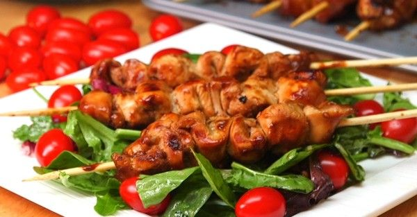 Beer and Honey Chicken Skewers is the Perfect Summer Grilling Recipe