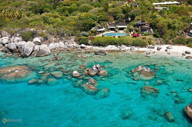 The Baths – #Британские_Виргинские_острова (#VG) Карибский остров Верджин-Горда в южной части имеет очень атмосферную береговую линию.  ↳ http://ru.esosedi.org/VG/places/1000139368/the_baths/