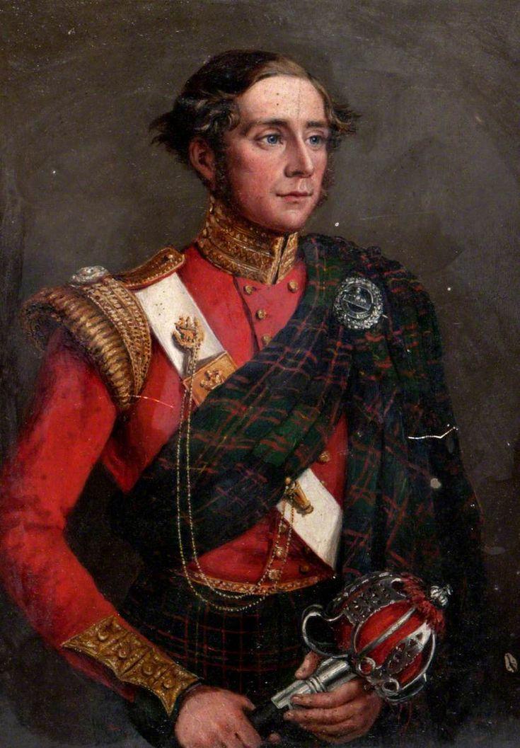 British; 79th Regiment of Foot (Cameron Highlanders), Lieutenant Colonel Robert Munro Ferguson of Raith and Novar (1802–1868), commanding th regiment 1835-41