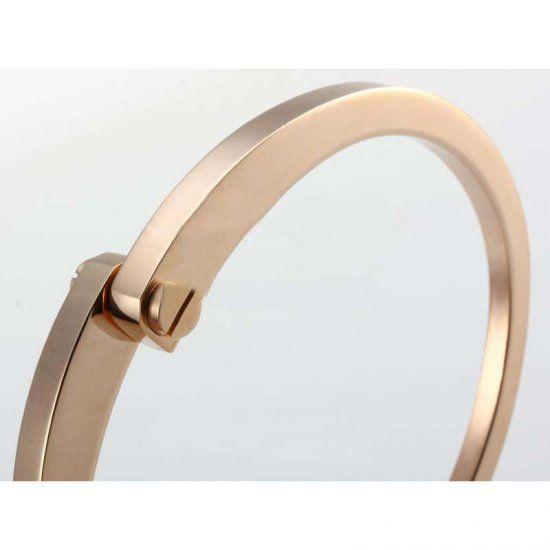 Cartier Armband in roestvrij staal verzilverd, verguld of Rose Gold - €83.70 : replica cartier watches, jacquescartierbest.com