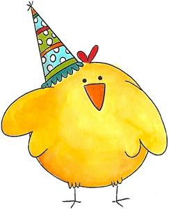 birthday chick