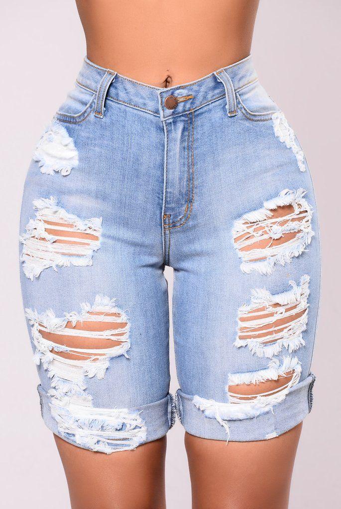 Shipwrecked Bermuda Shorts - Denim Blue