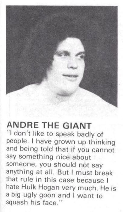 18 Andre The Giant Photos and Facts