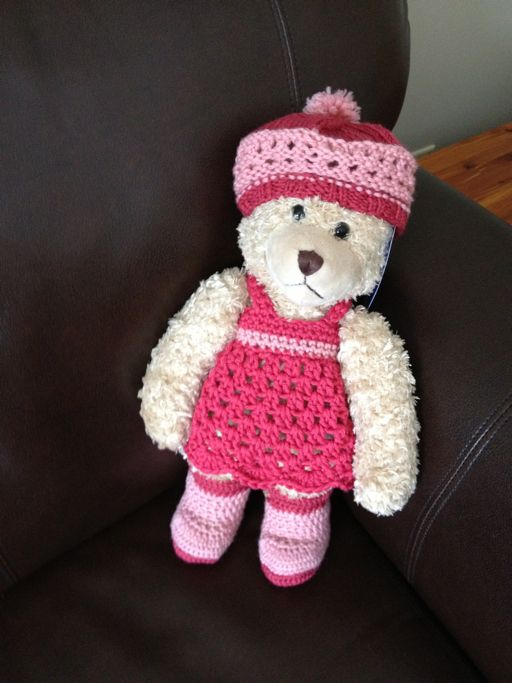 Finished Bear Clothes Build A Bear Crochet Patterns And