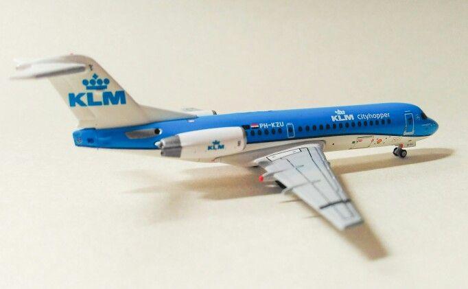 Fokker 70 cityhopper KLM