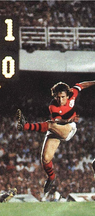 Zico, Flamengo and Cobreloa (Chile)
