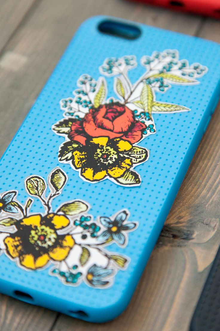 iPhone 6 printable floral case. Make It Now in Cricut ...