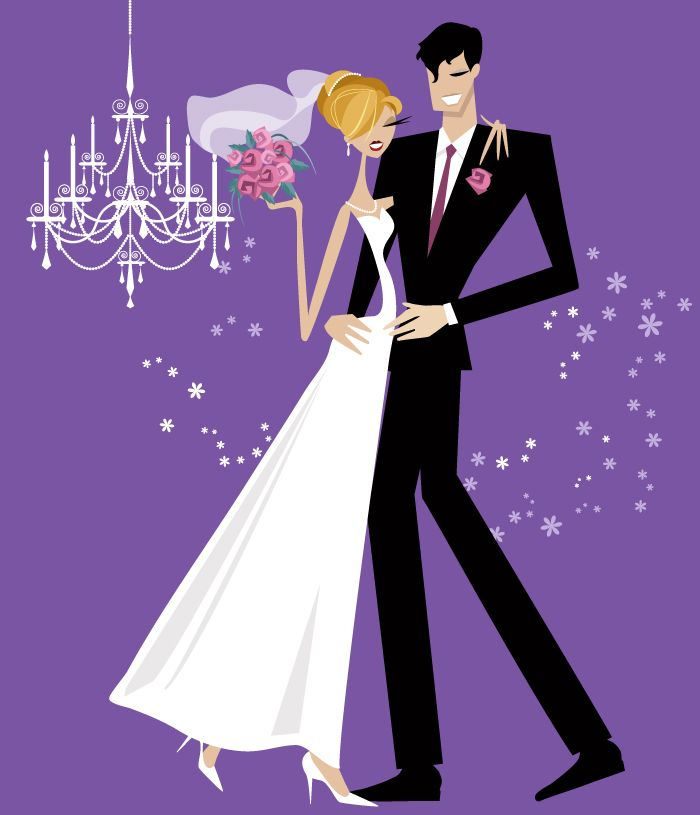 17 Best images about Dessins Couple on Pinterest | Wedding bride, Wedding and Portrait