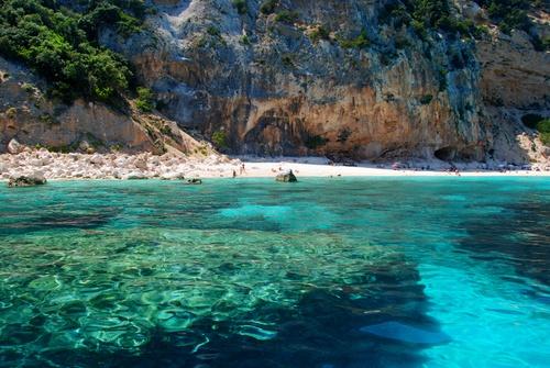 Italy Sardinia Baunei  Orosei - Spiaggia dei Gabbiani