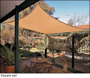 Coolaroo Shade Sails - Lee Valley Tools