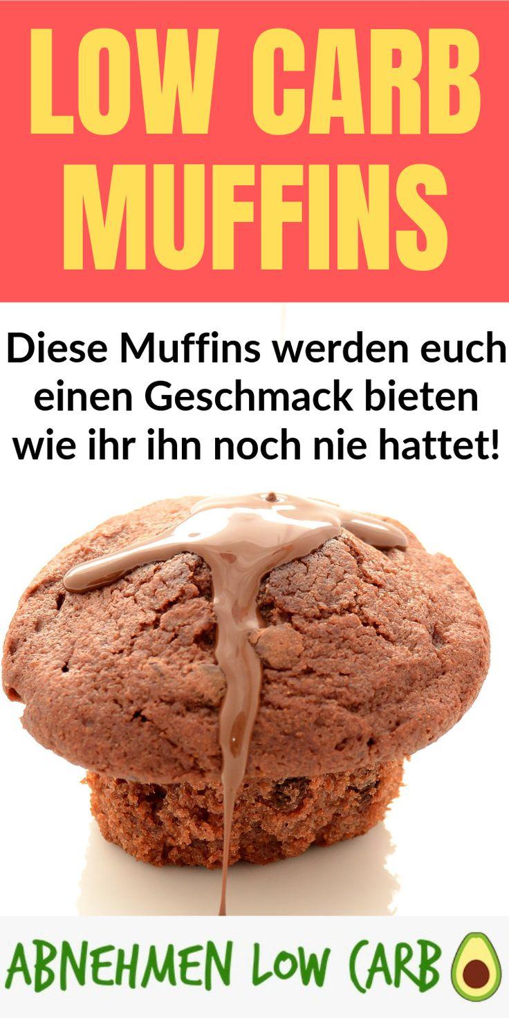 Diese Muffins sind ein Geschmackswunder! Und mit Low Carb nehmt ihr auch noch su…