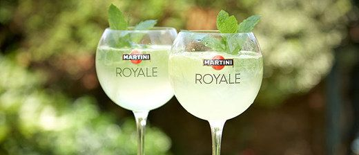 This Martini Bianco And Prosecco Cocktail Will Rock Your World