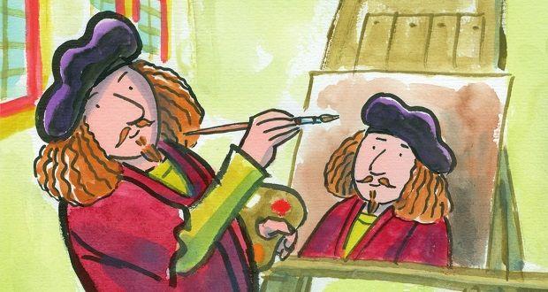 Dit ben ik laat beginnende lezers (AVI-START) kennismaken met Rembrandt van Rijn. Lees hier welke mini leeslessen ik bedacht bij dit boek.
