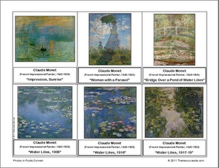 Free printable art montessori cards
