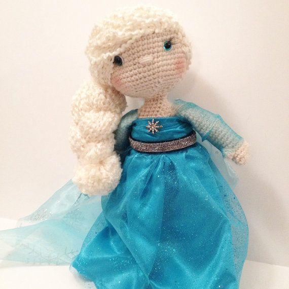Crochet Elsa Doll : 1357 best images about Elsa Toys on Pinterest Disney ...