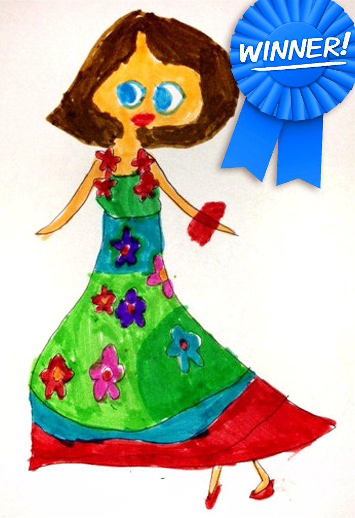 Luella Wyer's winning design.