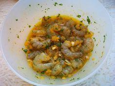 Recept om heerlijk gemarineerde scampi's op de BBQ te maken. Door de lekkere marinade op de scampi's blijven ze lekker zacht en mals.