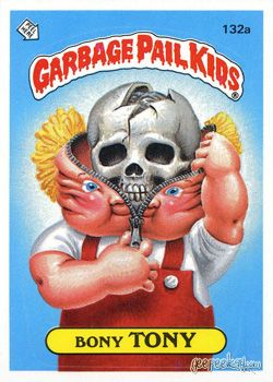 Here's the collection of original series 4 Garbage Pail Kids cards. To view series 1 click here, to view series 2 click here, and to check out series 3 ...