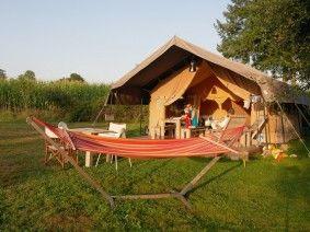 natuurcampings op verschillende plaatsen in Frankrijk