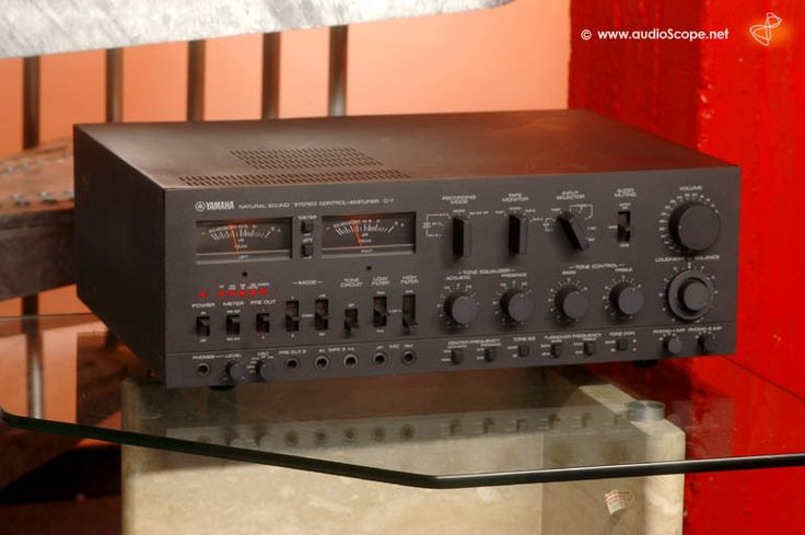 Yamaha C1 Control Amplifier Finer Things In Life Pinterest