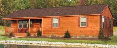 Modular Log Home.....I want so bad