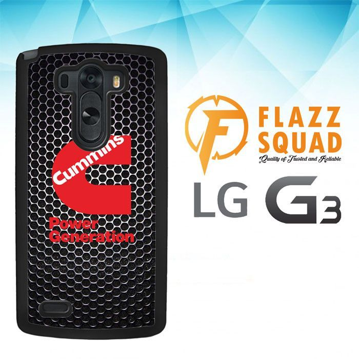 cummins Power Generation logo Z3884 LG G3 Case