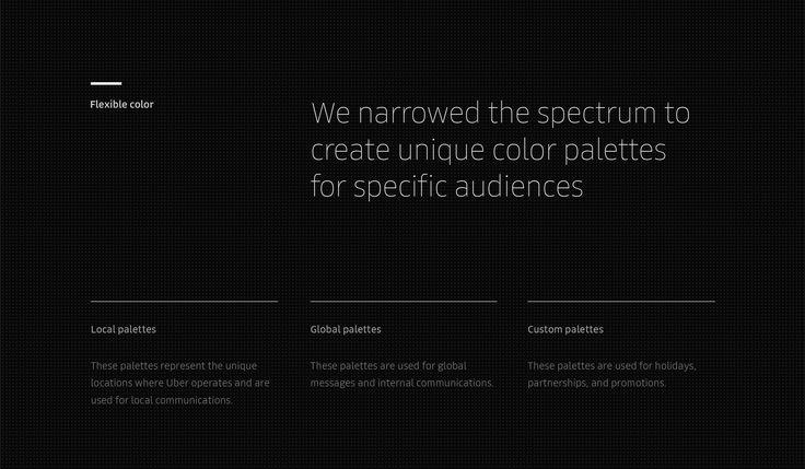 Uber Rebrand: Color and Pattern Framework on Behance