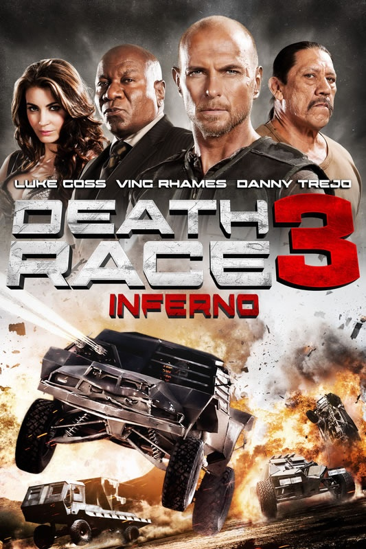 DEATH RACE 3: INFERNO clips and bonus feature videos!
