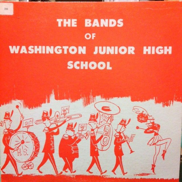 The Bands of Washington Jr. High School #LP #cover