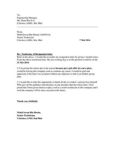 Contoh Surat Resign Ringkas Contoh Surat Resign Ringkas Have Some
