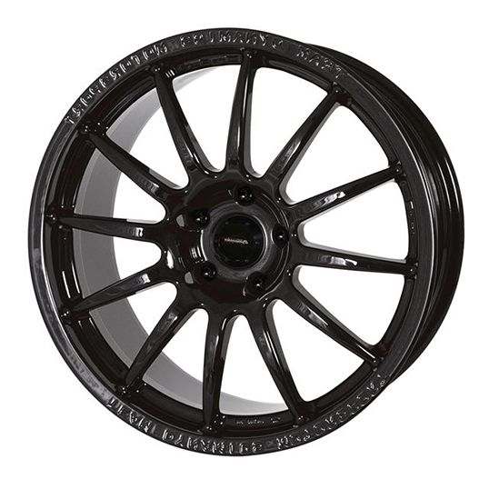 TEAM DYNAMICS PRO RACE 1.2 GLOSS BLACK alloy wheels with stunning look for 4 studd wheels in GLOSS BLACK finish with 17 inch rim size