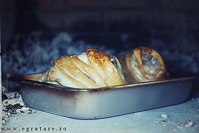 """Bucataria Nastasiei"" cuptor cu lemne"