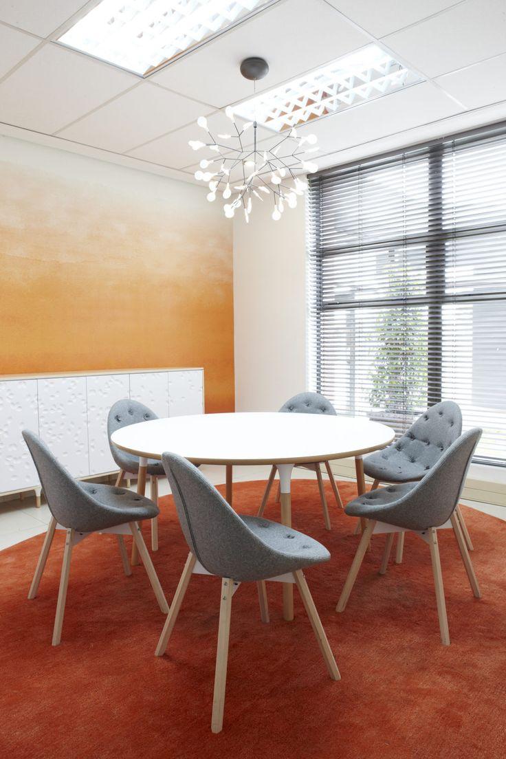 Orange Meeting Room, Environ Skincare Offices, Interior by Haldane Martin, photo by Micky Hoyle 01