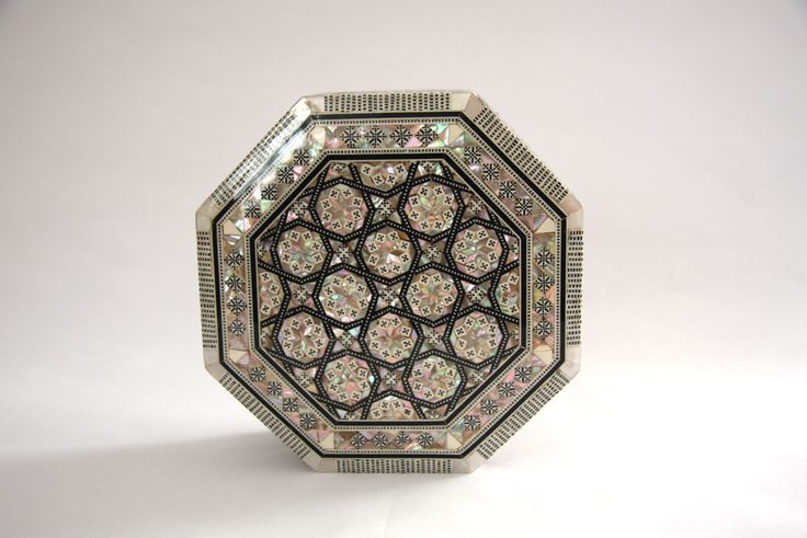 Moroccan Mother-of-Pearl Inlay Box by WMInteriors on Etsy