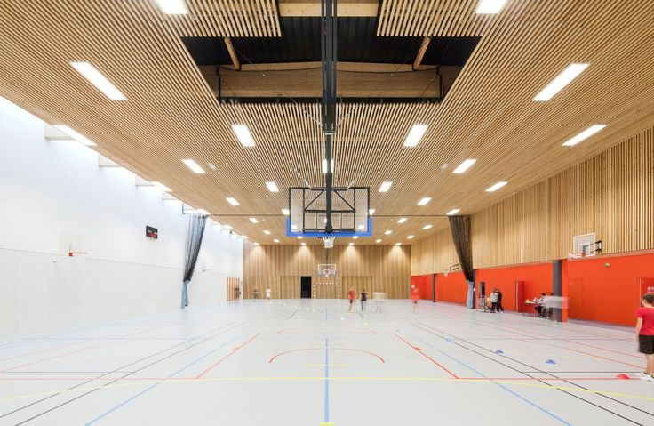 Gallery of School Gymnasium in Neuves Maisons / Giovanni PACE architecte…