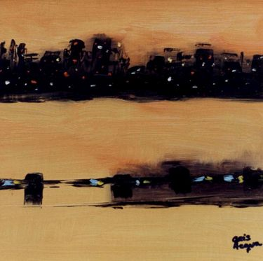 "Saatchi Art Artist Cris Acqua; Painting, ""1-BARNA "" #art http://www.saatchiart.com/art-collection/Painting/BARNA-de-Cris-Acqua/45144/70693/view"