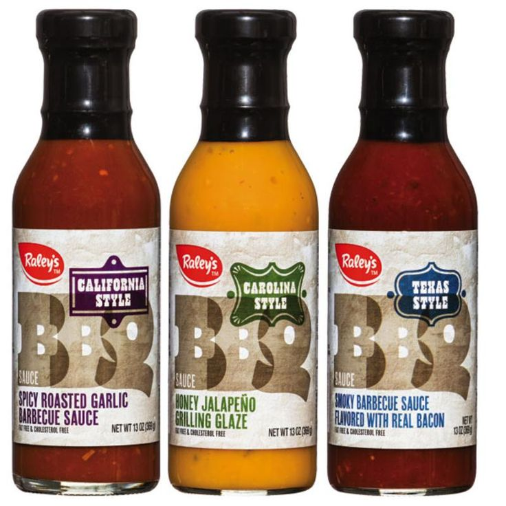 Sauce #labels | Raley's BBQ Sauces