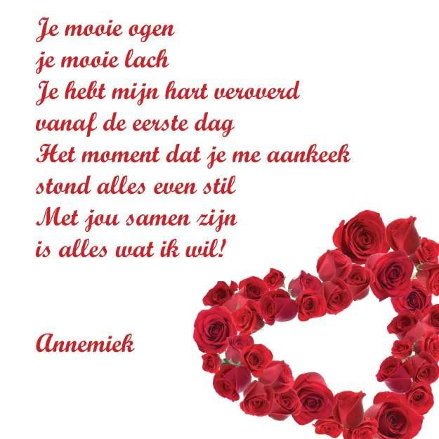 Valentijn Gedicht Valentine S Day Pinterest