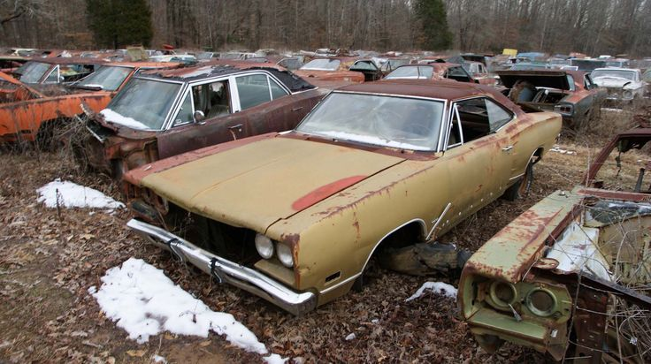 stevensperfomancesalvageyard Abandoned cars, Wrecking