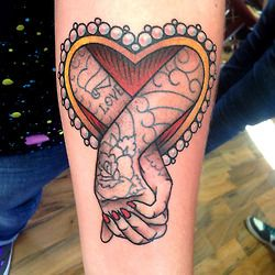 Tattoo done byIan Parkin. @ianparkintattoo