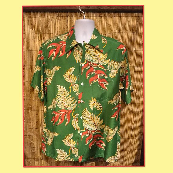 Vintage reproduction hawaiian shirts